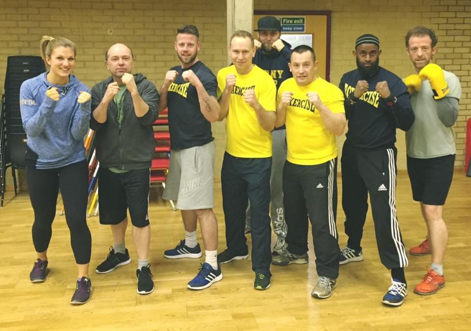 Upskilling with Boxercise UK!