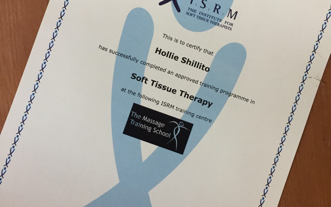 New Service- Soft Tissue Therapy